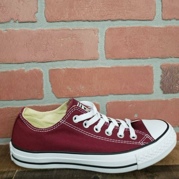 Chuck Taylor All Star Ox Maroon White